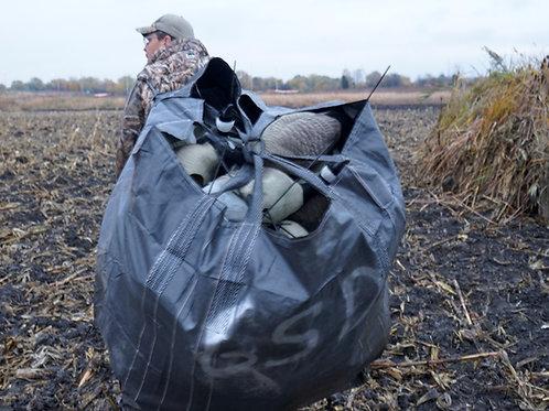 Black Gym Shoe Decoy Bag with Shoulder Straps