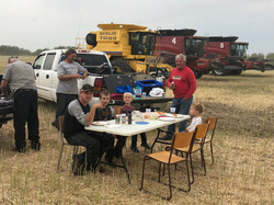 Harvest 2018 supper with partial cre