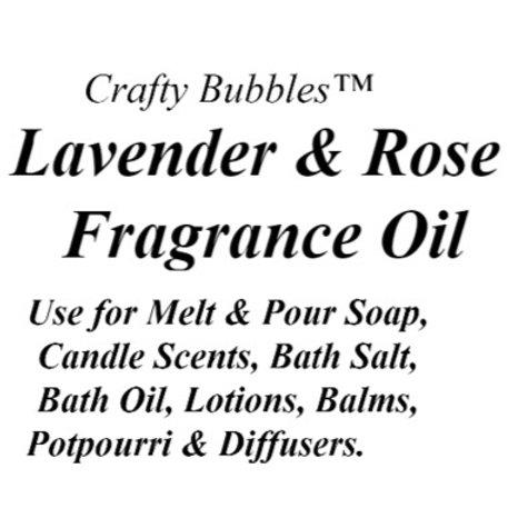 Lavender & Rose Fragrance Oil