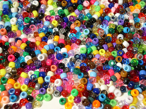 Color Assortment Pony Beads