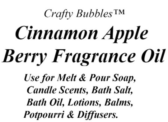 Cinnamon Apple Berry Fragrance Oil