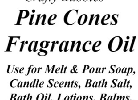 Pine Cones Fragrance Oil