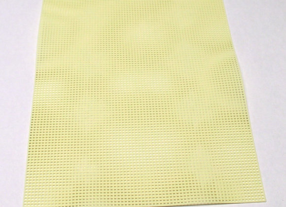 7 mesh Yellow Plastic Canvas