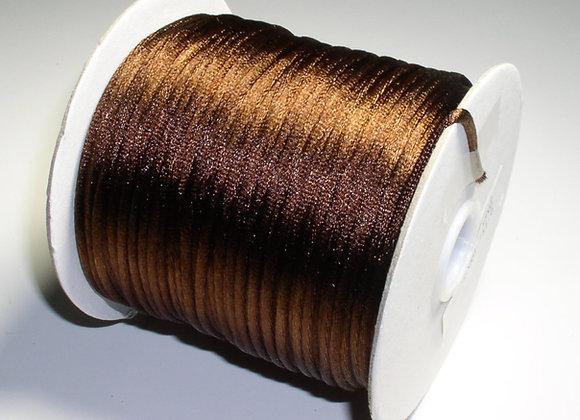 Dark Brown Rattail 2mm