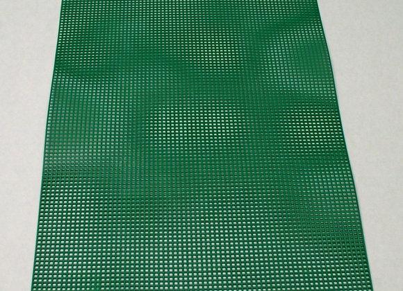 7 mesh Christmas Green Plastic Canvas