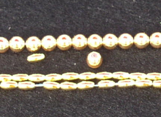 Gold Simulated Pearls