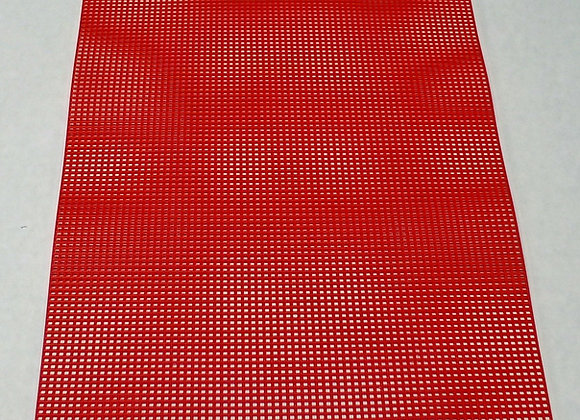 7 mesh Red Plastic Canvas