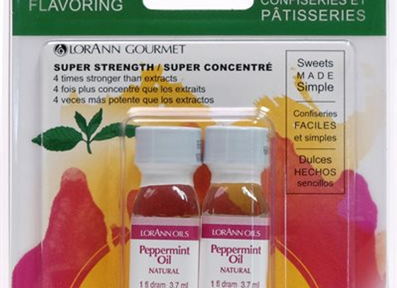LorAnn Peppermint Oil, Natural Super Strength Flavors