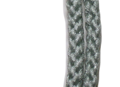 4mm Braided Macramé Cord - Misty Green