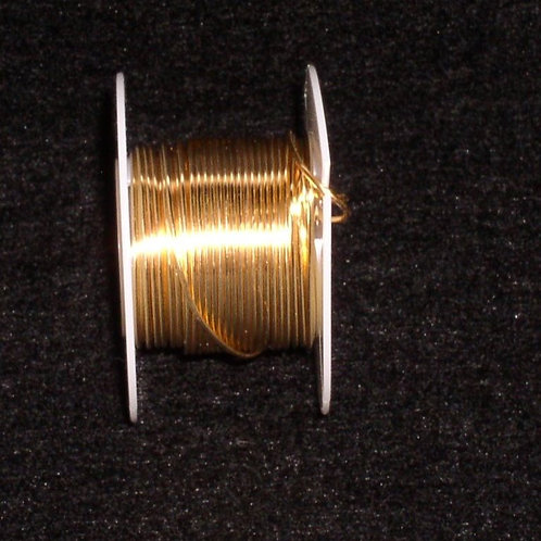 26 Gauge Gold Beading Wire