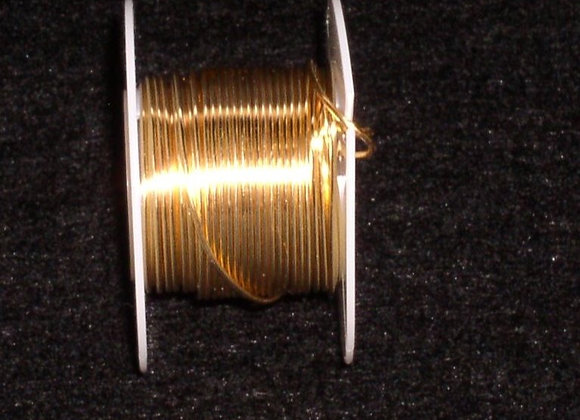 28 Gauge Gold Beading Wire