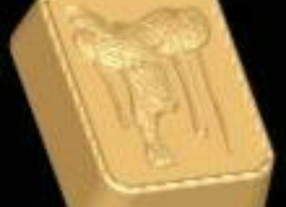 Saddle (horseback riding) Soap Mold
