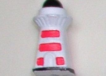 16mm x 32mm Cube Alphabet Beads -Lighthouse