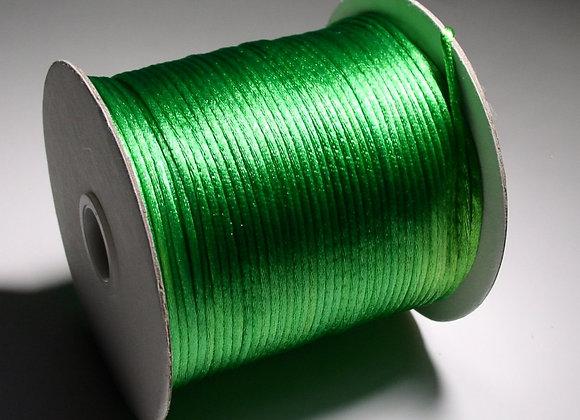 Xmas Green Rattail 2mm