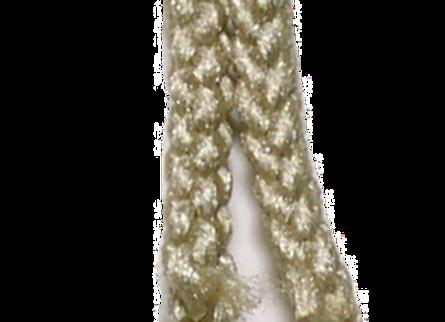 6mm Braided Macramé Cord -Pebble