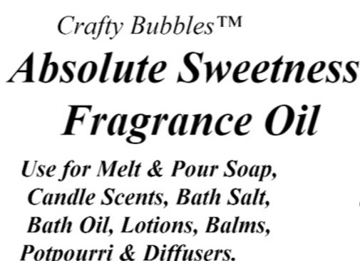 Absolute Sweetness Fragrance Oil