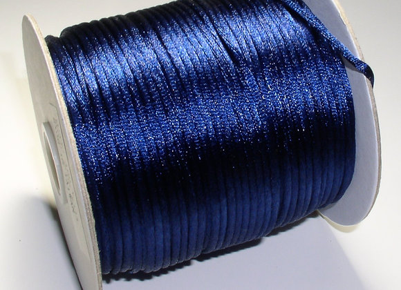 Royal Blue Rattail 2mm