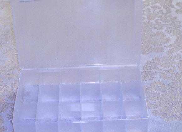 Clear 17 Compartment Organizer