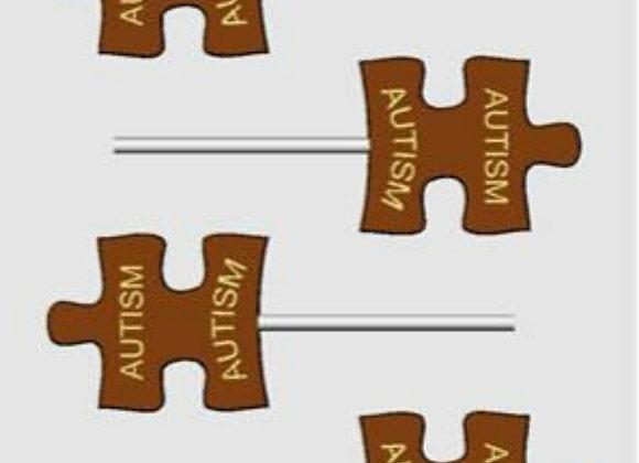Autism Sucker Chocolate Mold