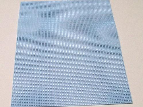 7 mesh Light Blue Plastic Canvas