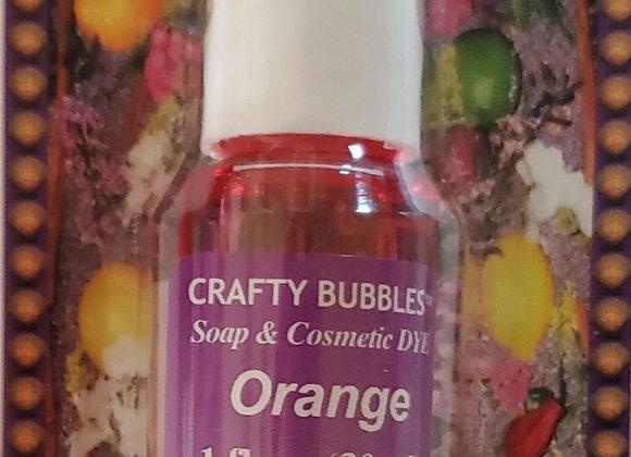Orange Soap & Cosmetic Dye