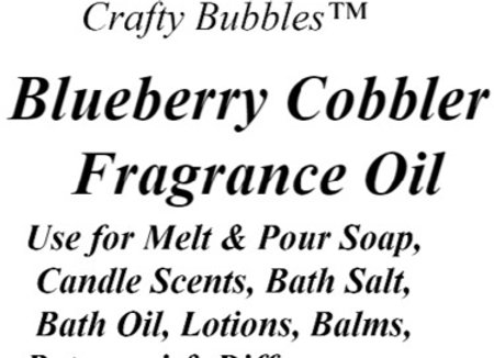 Blueberry Cobbler Fragrance Oil