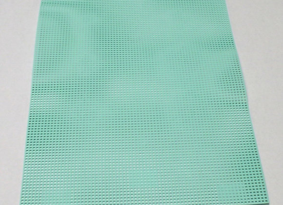 7 mesh Light Green Plastic Canvas