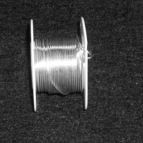 26 Gauge Silver Beading Wire