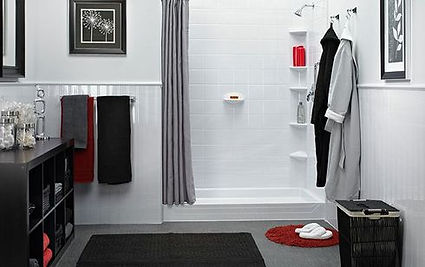 tub to shower conversion rd-black