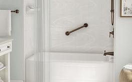 bathtub remodeling - cozy style