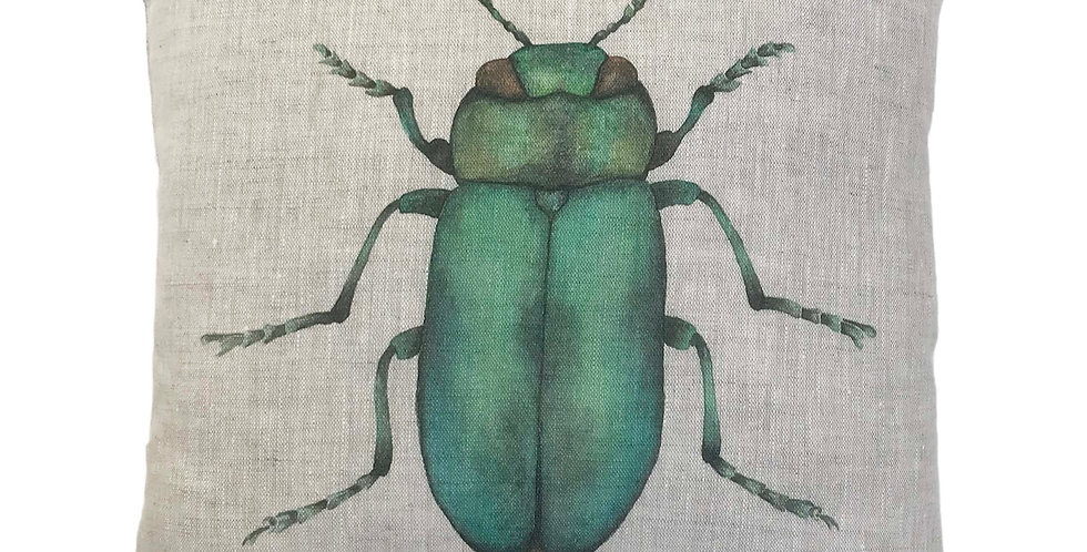 Jewel Beetle Cushion Cover