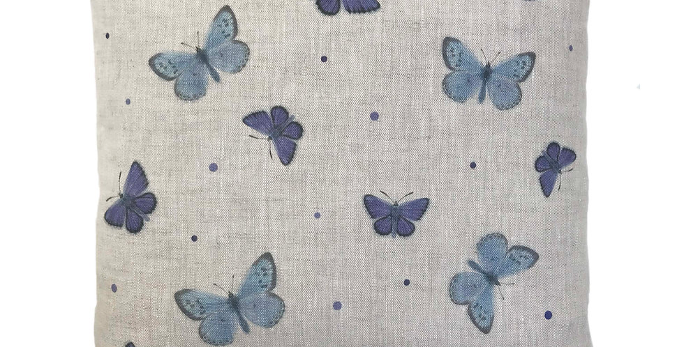 Scattered Butterflies Cushion Cover