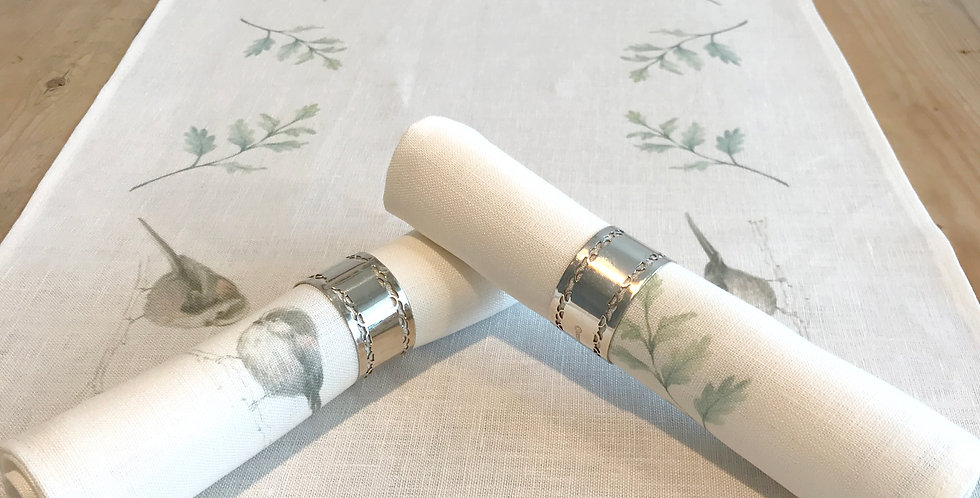 Long-tailed Tits Table Runner