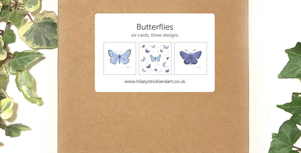 Butterflies Boxed Card Set