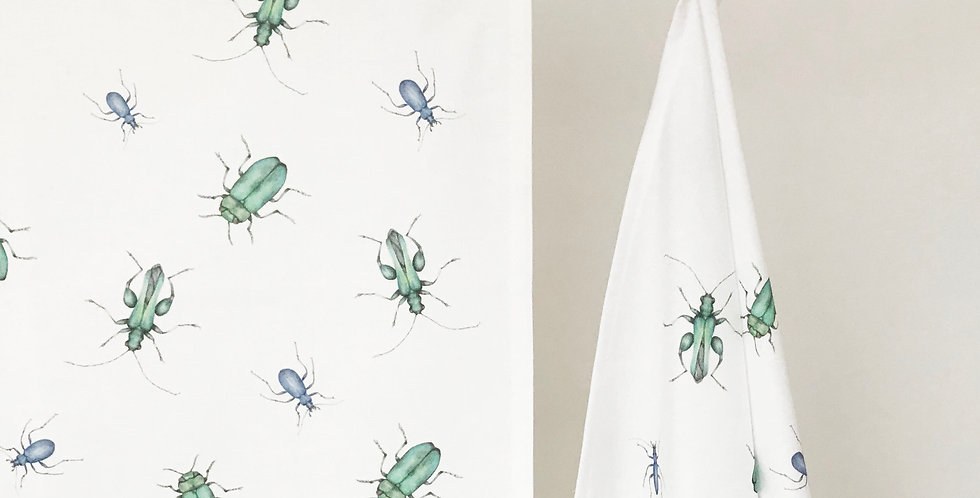 Beetle Tea Towel
