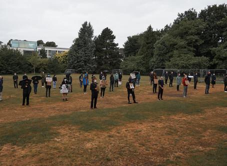 Eddies CR Black Lives Matter Silent Protest