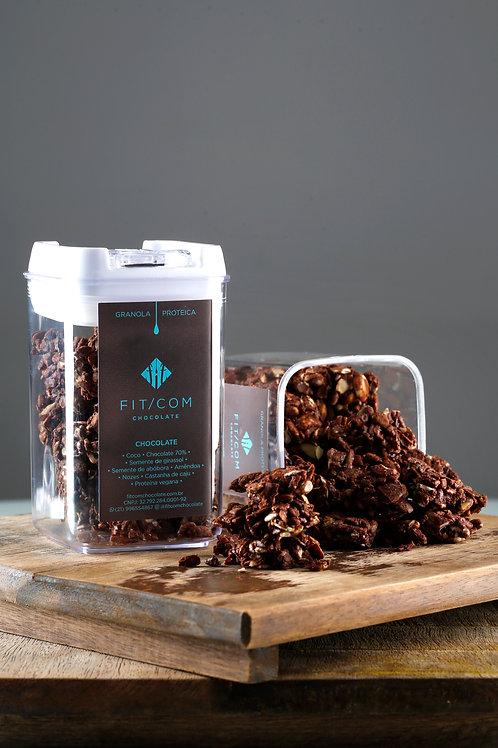 Granola Chocolate 70% (Pote Hermético P)