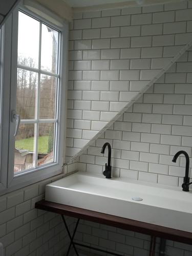 Salle de bain terminée
