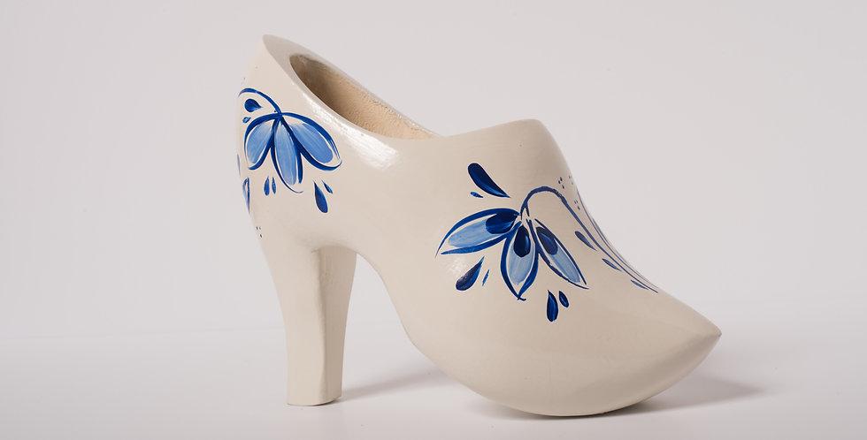 Annemieke Rozenberg 'Delfts Blue' high heel