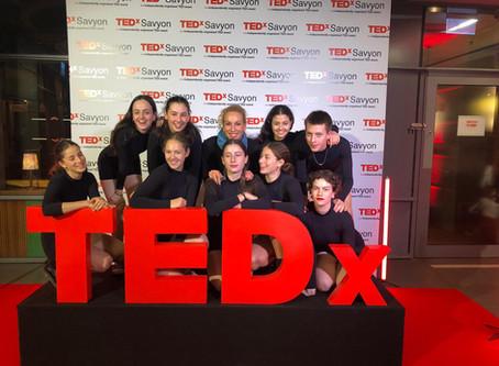מגמת מחול באירוע TED