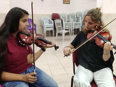עירוני א' בשיתוף פעולה מוסיקלי עם תיכון מר-אליעס, אעבלין