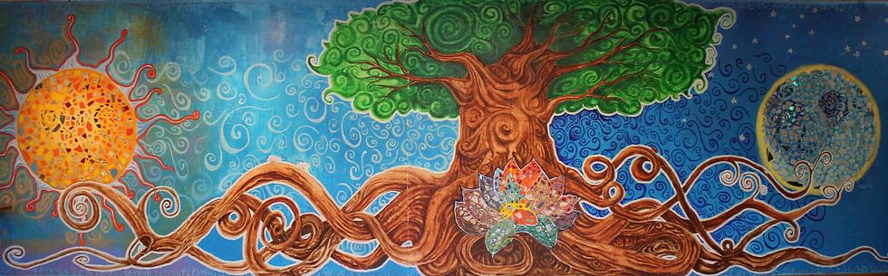 community center tree of life banner