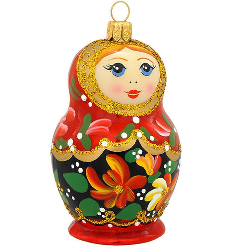 Polish Ornament, Babuszka Doll