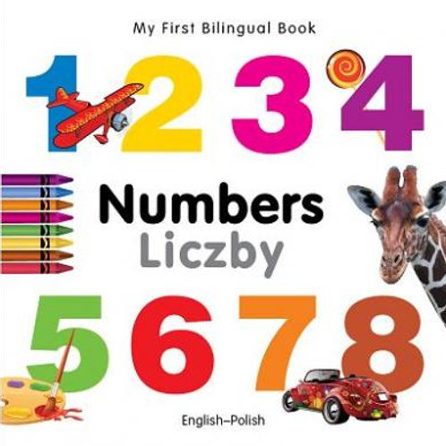 Polish, Kids Bilingual Book – Numbers