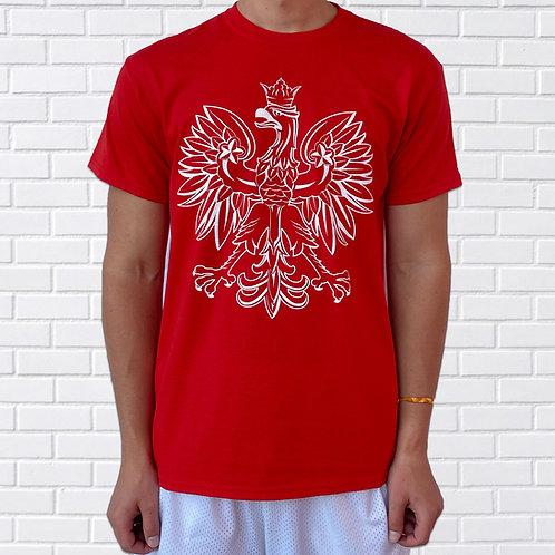 Polish Eagle T-Shirt, Red or Black
