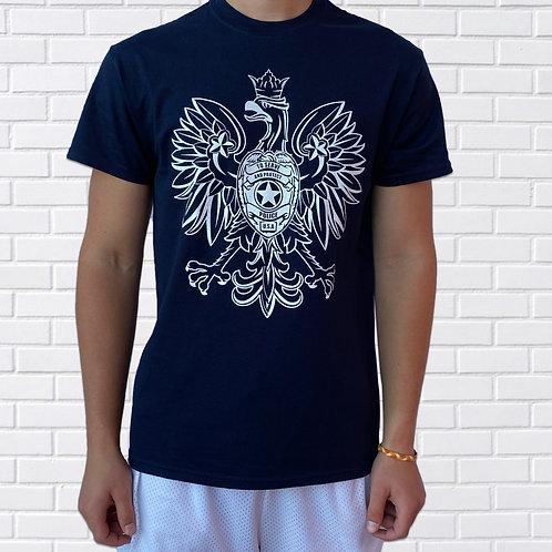 Polish T-Shirt, Police, Blue