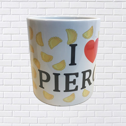Polish Mug, I Love Pierogi