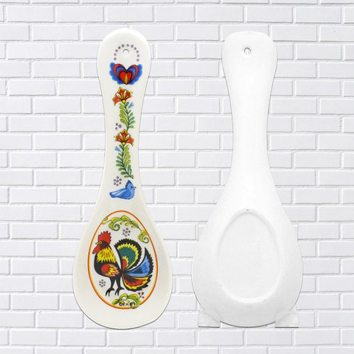 Polish Spoon Rest, Rooster