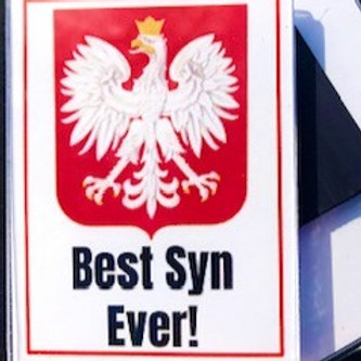 Polish Acrylic Magnet – Best Syn Ever!