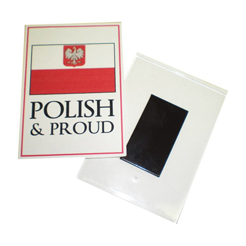 Polish Acrylic Magnet – Polish and Proud